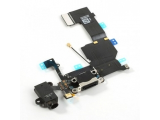 iPhone 5C Lightning Dock Connector / Audio Flex / Mikrofon - Schwarz