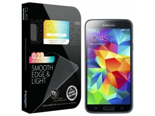Samsung Galaxy S5 Premium Glas Folie Panzerglas HD Real Glass