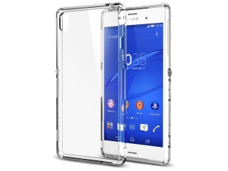 Sony Xperia Z3 Thin Clear Hülle Cover Gummi transparent durchsichtig