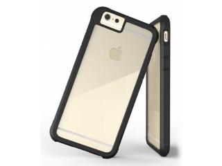 G-Case iPhone 6/6S Plus Bumper Case Hülle Schwarz Rückseite clear
