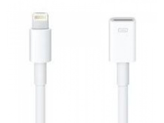 Lightning (male) auf Lightning (female) Verl�ngerung 1 Meter - iPhone 5,5S,6,6 Plus iPad iPod