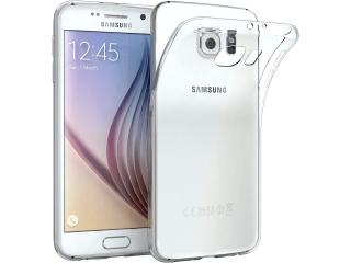 Samsung Galaxy S6 Thin Case Hülle Cover Gummi transparent durchsichtig