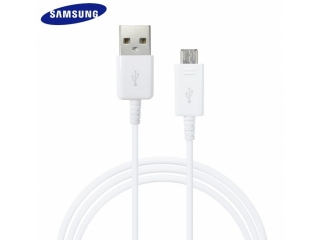 Samsung Galaxy S7 S6 Edge (Original) Micro USB Lade-Datenkabel weiss