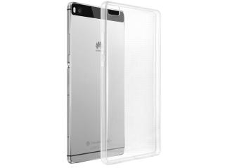 Huawei P8 Thin Case Hülle Cover Gummi transparent durchsichtig