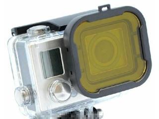 GoPro Tauchfilter gelb für GoPro Hero 3+ / Hero 4 für Standardgehäuse