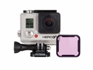GoPro Tauchfilter magenta für GoPro Hero 3+ / Hero 4 - Standardgehäuse