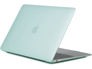 "MacBook 12"" Schutzh�lle - Matt Case - gr�n transparent - SmartShell-H�lle Snap-On Etui"