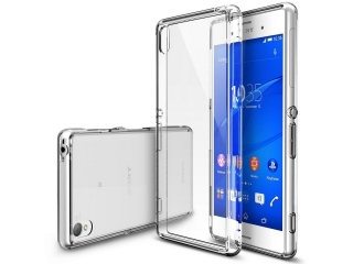 Sony Xperia Z5 Thin Case Hülle Cover Gummi transparent durchsichtig