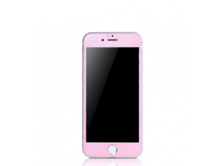 REMAX iPhone 6/6S iVisor Tempered Panzerglas + Color Frame mit Rahmen in Rosa matt - RG Real Glass