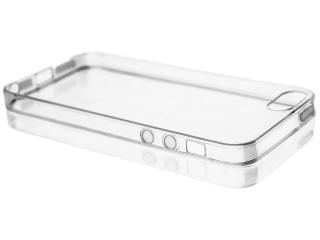 Dünne durchsichtige iPhone SE Gummi Schutzhülle 0.8 mm Case - Clear