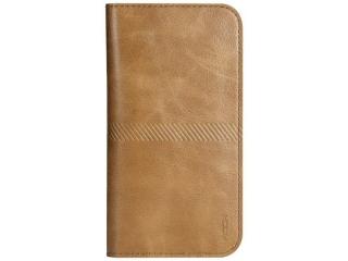"""ROCK Wallet iPhone 8 Leder Portemonnaie für 4.3 - 4.7"""" - Braun"""