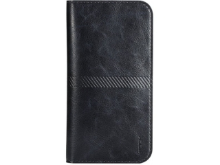 "ROCK Wallet iPhone 8 Plus Leder Portemonnaie für 4.8 - 6.0"" schwarz"