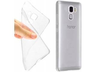 Gummi Hülle für Huawei Honor 7 flexibel dünn transparent thin clear
