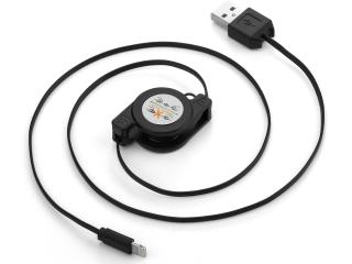 Ausziehbares USB Lightning Ladekabel für iPhone 5S/SE/6/6S/7/8/X/Xs/Xr