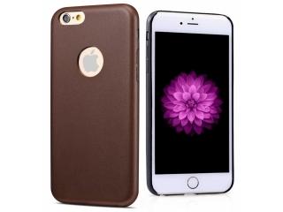 Ultra dünne Leder Hülle für iPhone 6S Plus in Dunkelbraun Slim Apple