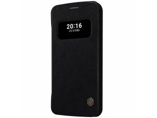 Nillkin LG G5 Ledertasche Flipcase Schutzhülle QIN Case - schwarz