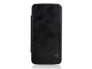 G-Case LG G5 Flipcover Lederhülle Schwarz