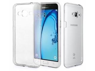 Samsung Galaxy J3 (2016) Ultra Thin Case Hülle Cover Gummi transparent