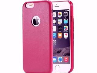 Ultra dünne Leder Hülle für iPhone 6S Plus in Purple Cherry Slim Apple