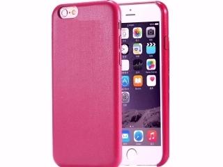 Ultra dünne Leder Hülle für iPhone 6S Plus in Purple Cherry Slim Case