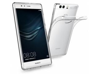 Gummi Hülle für Huawei P9 flexibel dünn transparent thin clear