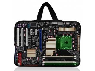 "Neoprene MacBook Sleeve 13"" Slim Soft Hülle Tasche Computer Mainboard"