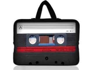 "Neoprene MacBook Sleeve 13"" Slim Soft Hülle Tasche - Mix Kassetten"