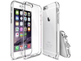 iPhone 6S Plus Gummi Hülle extrem stabil mit Staubschutz transparent