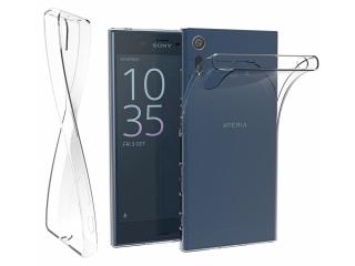 Sony Xperia XZ Thin Clear Hülle Cover Gummi transparent durchsichtig
