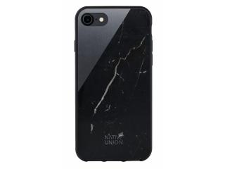 Native Union Clic Marble Case iPhone SE 2020 Echt Marmor schwarz