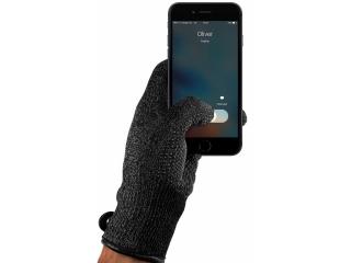Mujjo Single Layerd Premium Touchscreen Handschuhe Grösse M in schwarz