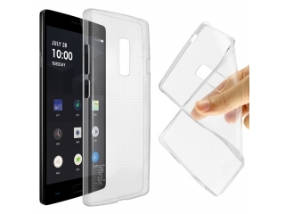 OnePlus 2 Gummi TPU Hülle flexibel dünn transparent thin clear case