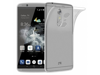 "Gummi Hülle ZTE Axon 7 Mini 5.2"" flexibel dünn transparent thin clear"