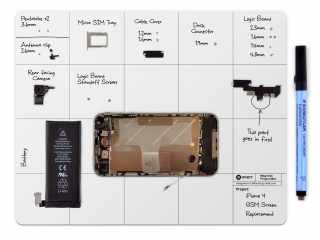 iFixit Magnetic Project Mat Pro - Magnetische Arbeitsunterlage