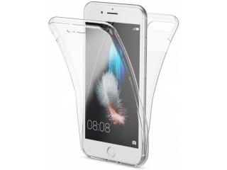 360 Grad iPhone 8 Plus Touch Case Transparent Silikon TPU Rundumschutz
