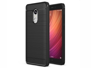 Xiaomi Redmi Note 4 Carbon Gummi Hülle TPU Case Cover flexibel stabil