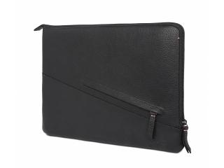 """Decoded Basic Sleeve Edle Hülle aus Echtleder für MacBook 13"""" schwarz"""