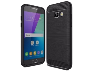 Samsung Galaxy A5 (2017) Carbon Gummi Hülle TPU Case Cover flexibel