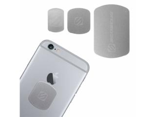 Scosche magicPLATE Ersatz Magnetplättchen in 3 Grössen - Space Gray