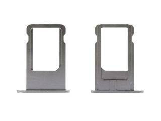 iPhone 6 Sim Tray Karten Schublade Adapter Schlitten - spacegray