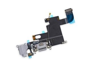 iPhone 6 Lightning Dock Connector Audio Flex Mikrofon - grau schwarz