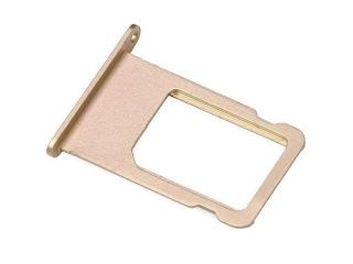 iPhone 6S Sim Tray Karten Schublade Adapter Schlitten - gold
