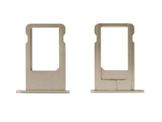 iPhone 6 Plus Sim Tray Karten Schublade Adapter Schlitten - gold