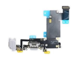 iPhone 6S Plus Lightning Dock Connector Audioflex Mikrofon - grau