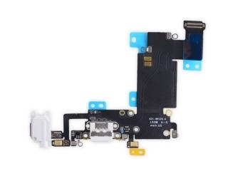 iPhone 6S Plus Lightning Dock Connector Audioflex Mikrofon - weiss