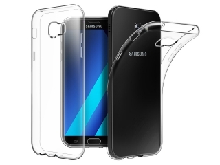 Gummi Hülle zu Samsung Galaxy A3 (2017) flexibel dünn transparent thin