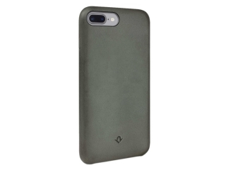 Twelve South Relaxed Leather Vintage Leder Case iPhone 8 Plus - herb