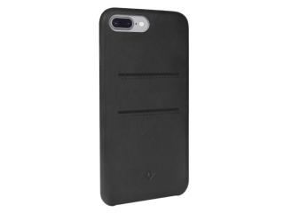 Twelve South Relaxed Leather iPhone 8 Plus Leder Case + Karten schwarz