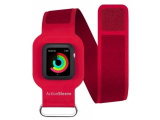 Twelve South ActionSleeve Neopren Armband für 42mm Apple Watch rot