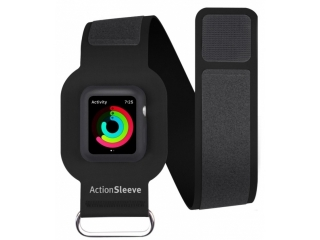 Twelve South ActionSleeve Neopren Armband für 38mm Apple Watch schwarz